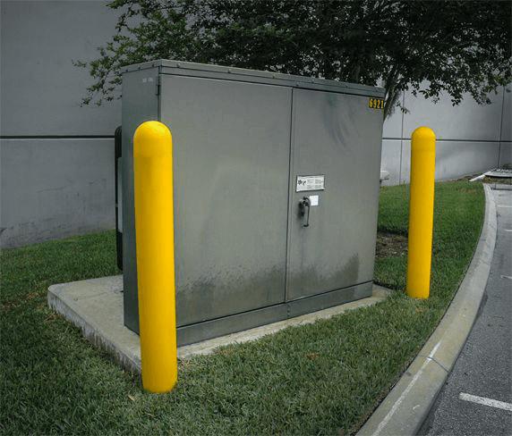 Bollard For Entrances
