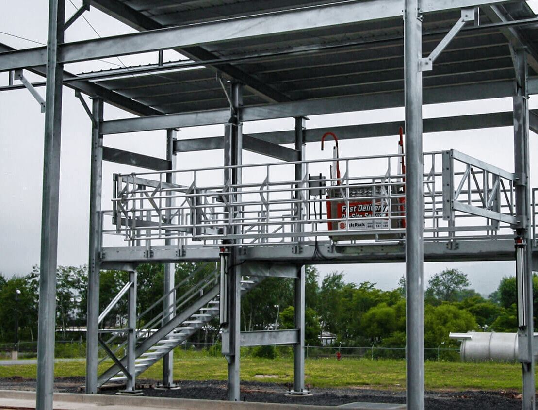Truck Loading Canopy System