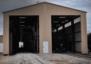 Railcar Loading Sheds