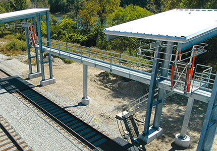 Railcar and Truck Loading Shelters
