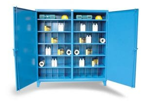 2 shift storage cabinet
