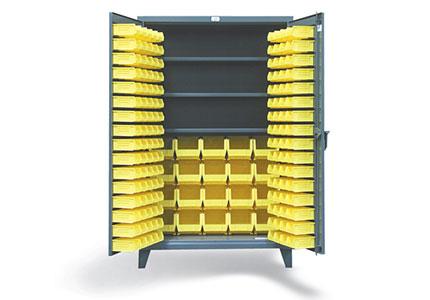 3 Shelf Bin Cabinet