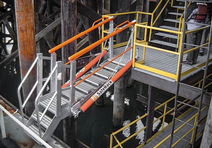 docking sas self adjusting stair gangway 740x516