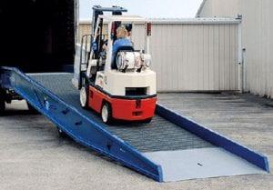 forklift loading ramp