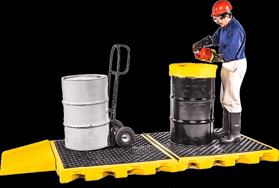 Spill Deck Bladder & IBC Spill containment | Saferack