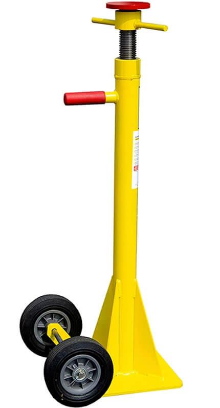 Adjustable Height Trailer Stabilizer