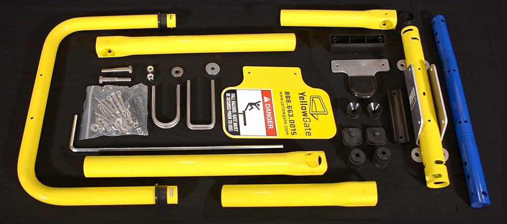 Yellowgate swing gate hardware