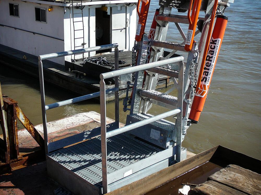 aluminum dock ramp gangway 7