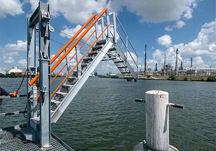 Self-Adjusting Stairs (SAS) Marine Gangway