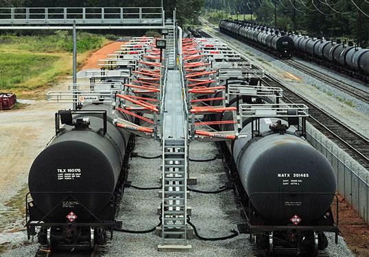 Custom Railcar Platform