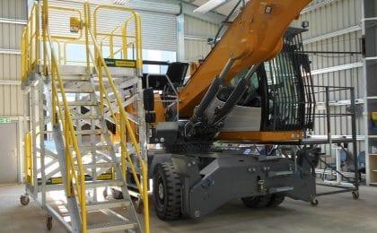 custom rolling work platform 5