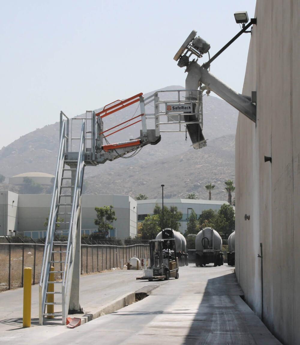 custom truck loading station