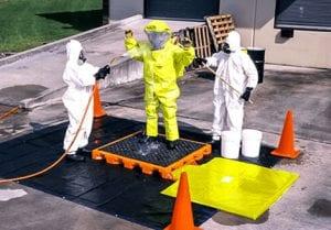 decontamination decks