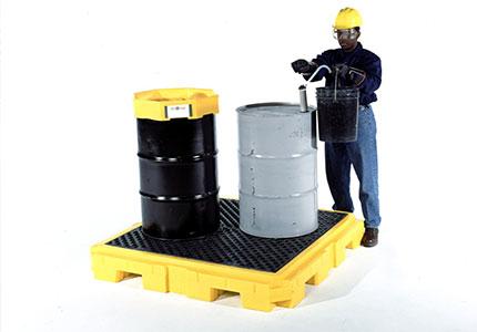 drum spill pallets