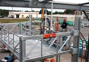 Elevating Articulating Handrail