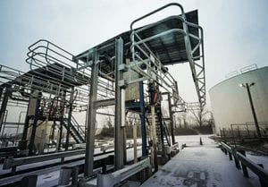 Elevating Handrail Vehicle Loading Safety System