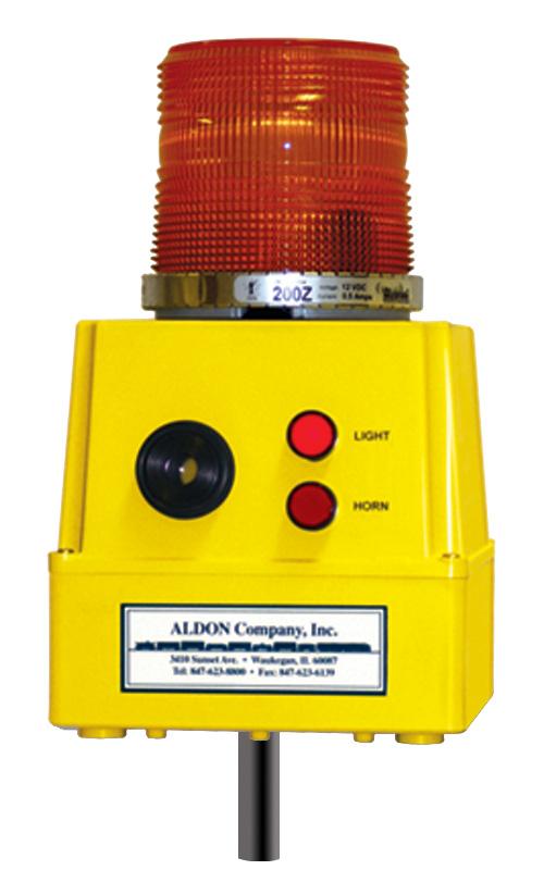 end of car warning signaler
