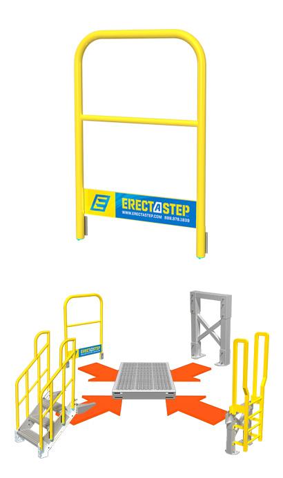 erectastep handrails