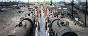 Railcar Loading Platform