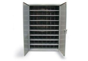 metal bin storage