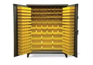 multi size all bin cabinet