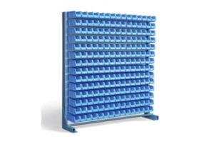 one sided 210 bin rack