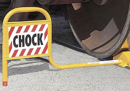 Steel Railcar Wheel Chocks