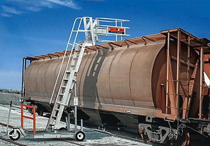 Railcar Mobile Access Unit