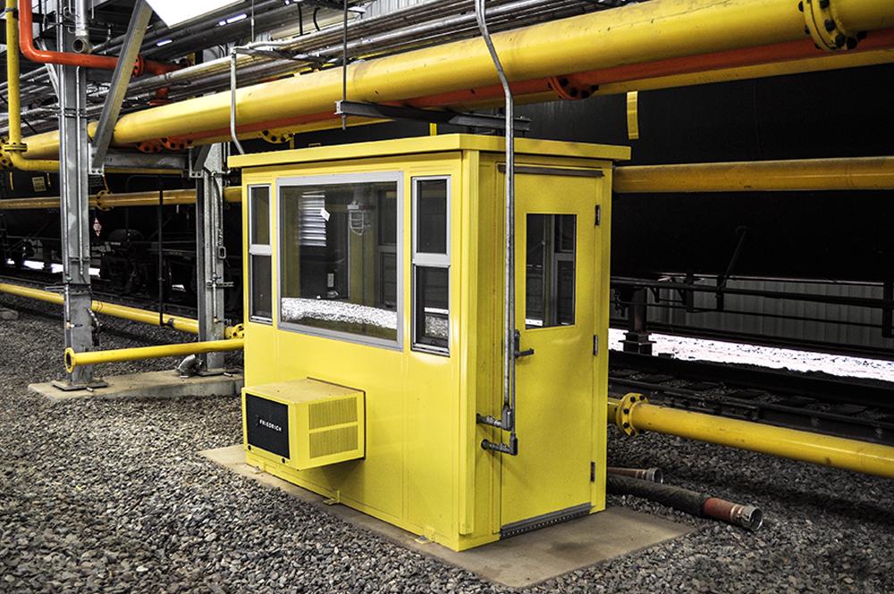 saferack operator shelter