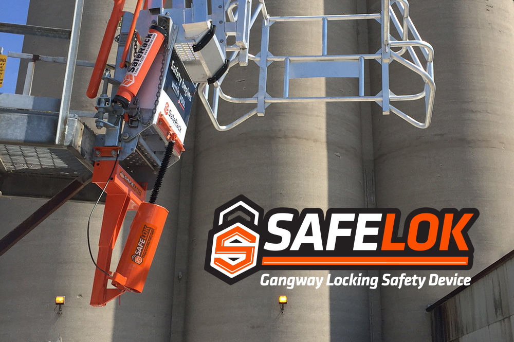 SafeLok System Installation Gangway lock down device