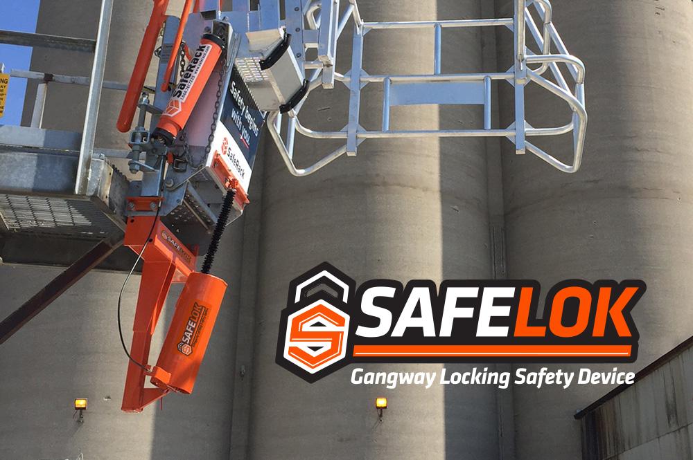 SafeLok System Installation Gangway lock down device