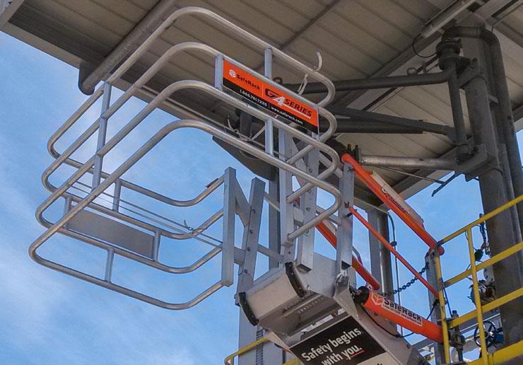 self adjusting stair gangway truck 740x516