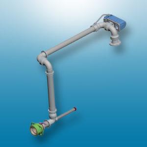 short range hose loader