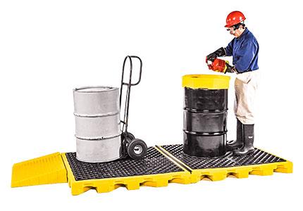 Bladder Spill Decks