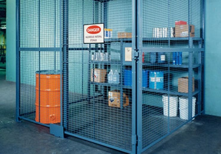 Tool Cribs And Equipment Cages Saferack