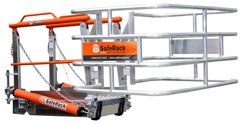 track gangway sfr safety cage