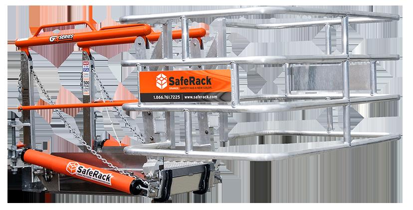 track gangway sfr safety cage