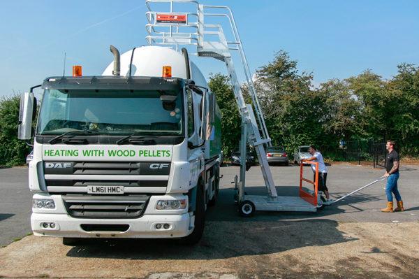 truck mobile access unit
