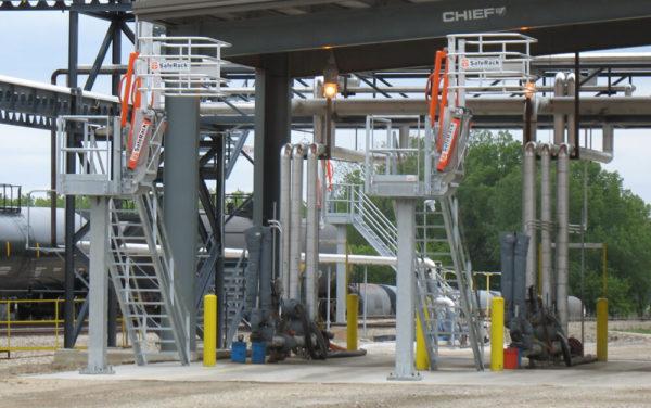 Truck Terminal Loading Platform