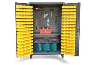 upright tool storage cabinet