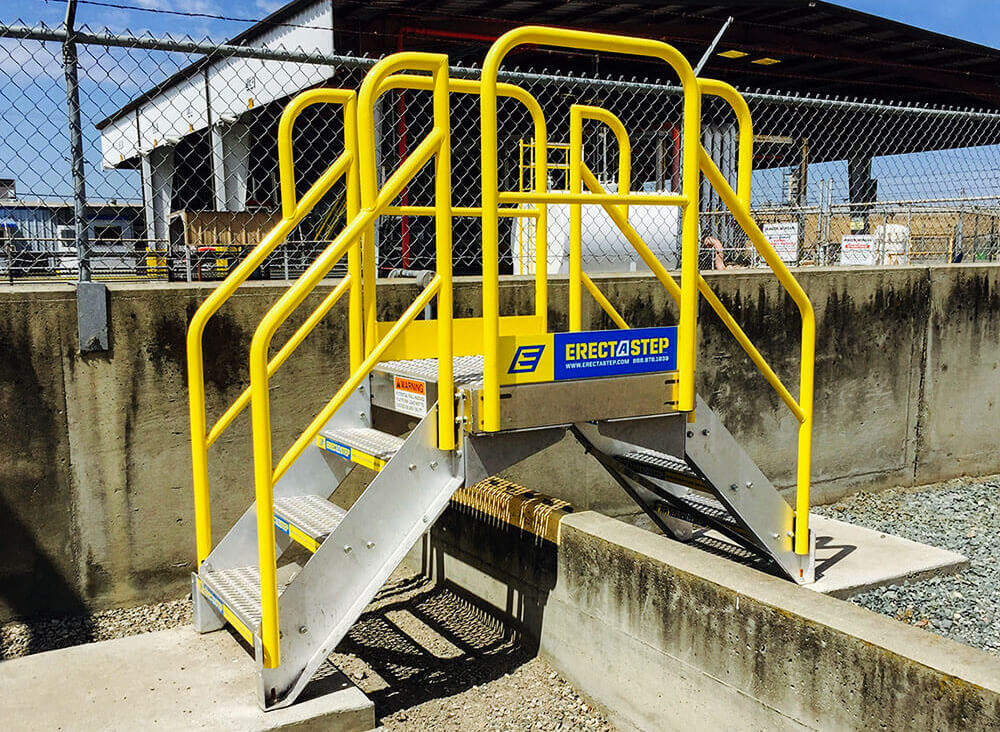 Osha Compliant Crossover Platforms Amp Crossover Stairs