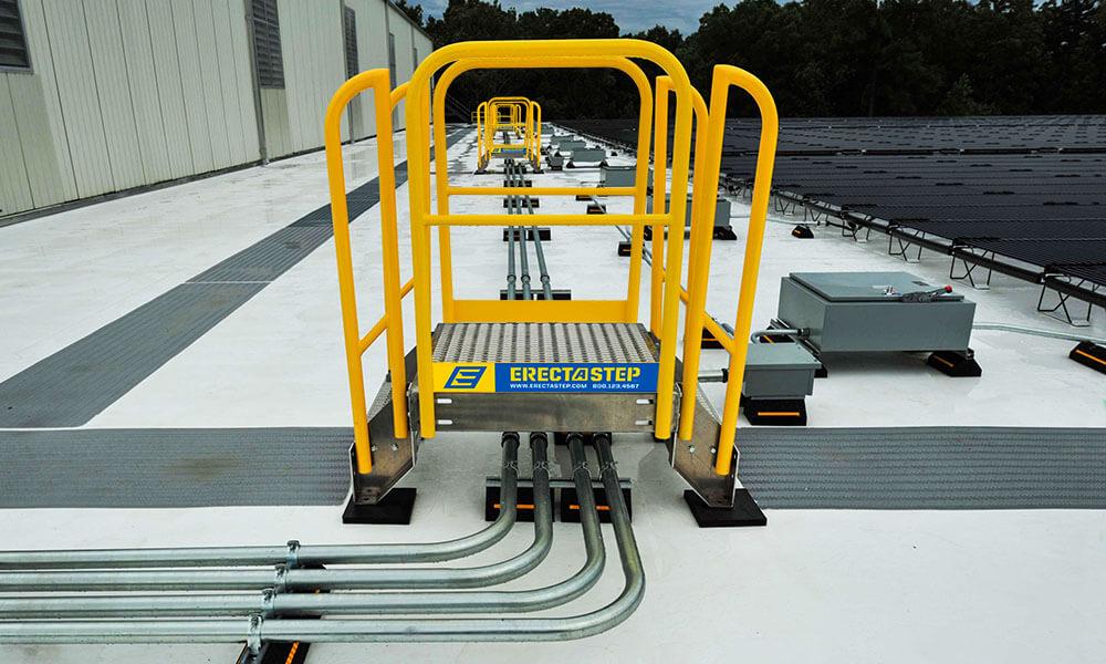 Work Platform Metal Stair Crossover 11