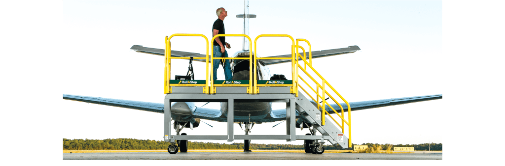 rollastep mobile working platforms and stairs 23 airplane aircraft maintenance rolling steps