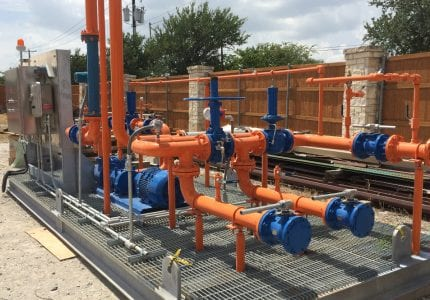 Packaged Pump Skid Systems