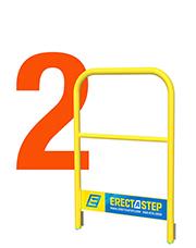 erectastep 5 component 2 handrail