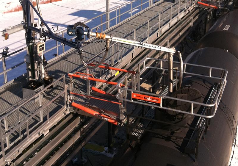 SafeRack SFR Gangway for Rail