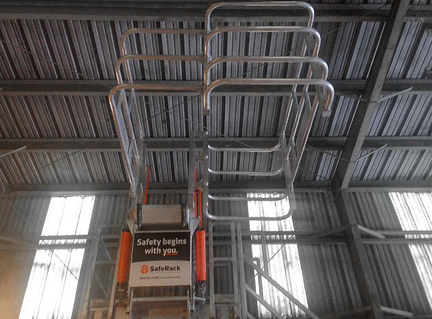 Cement loading offset SAS self adjusting stair gangway 850x628