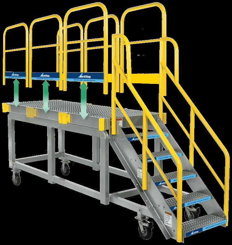 Maintenance Platform - removable handrails