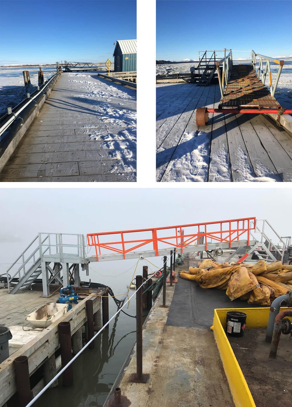 Custom Alaska MarinaStep Installation