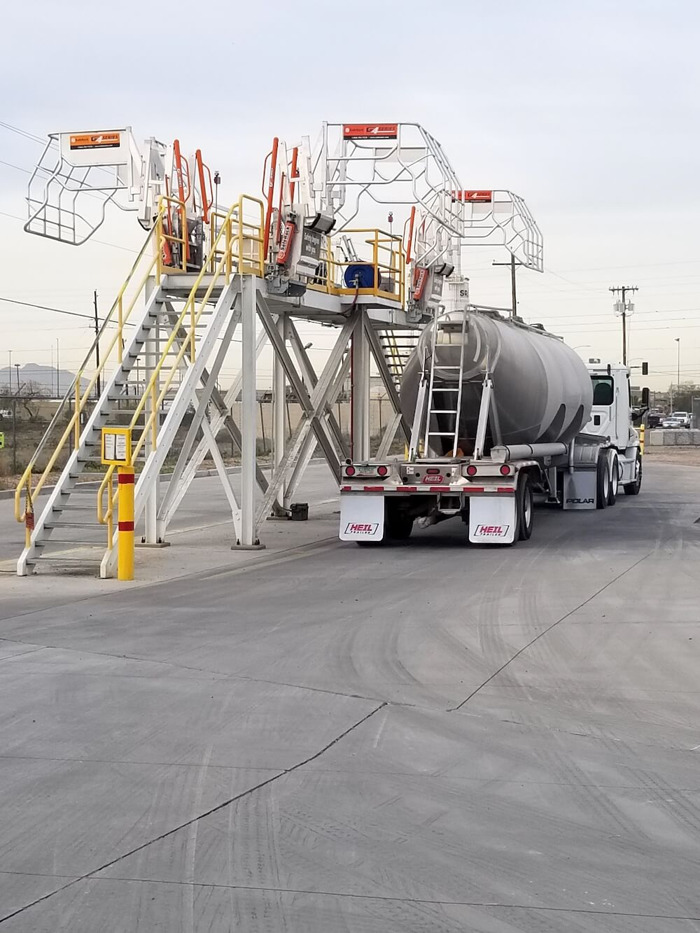 Gangway for Cement Loading